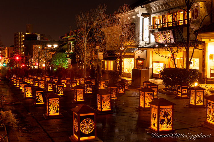 長野燈明祭-長野灯明まつり-nagano-toumyou