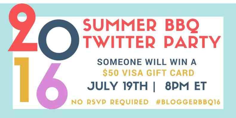 Summer BBQ Twitter Party #BloggerBBQ16
