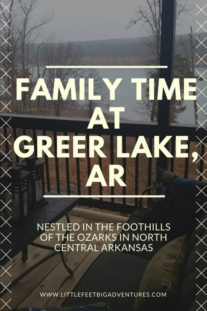 Family Time At Greer Lake, AR