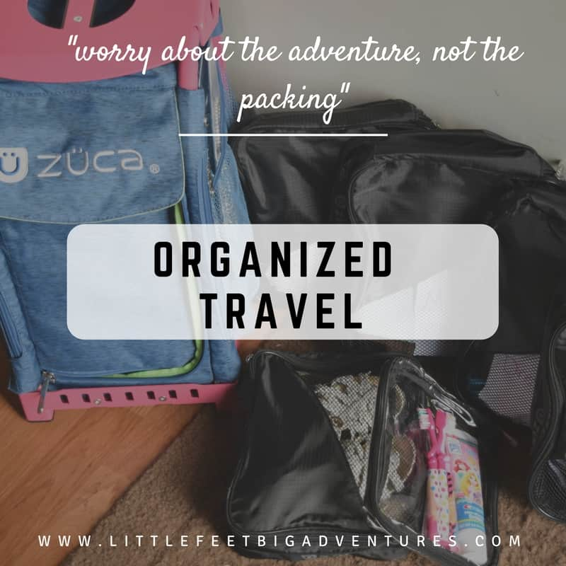 organized travel; problem solved