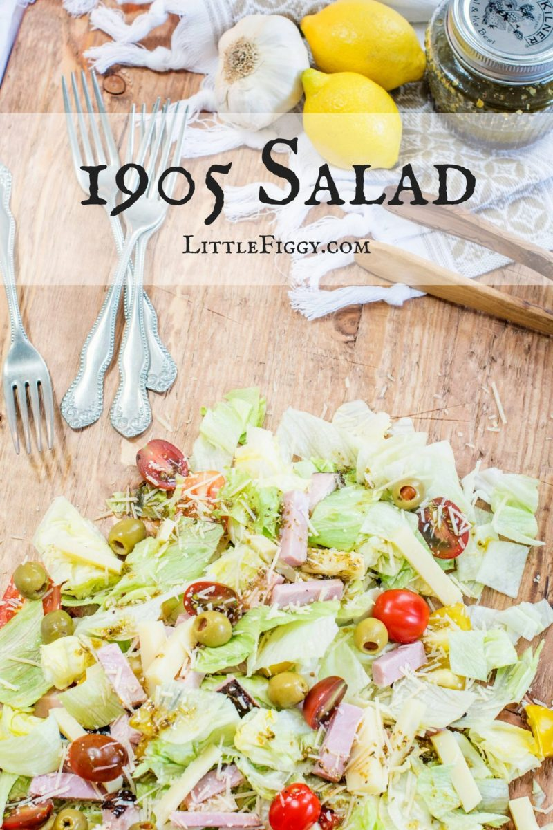 This is 1905 Salad from Columbia Restaurant in St. Augustine, is my favorite go to salad anytime of the year! Find the recipe Little Figgy Food