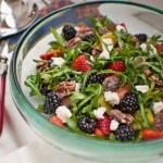 Florida Arugula, Berry and Citrus Salad