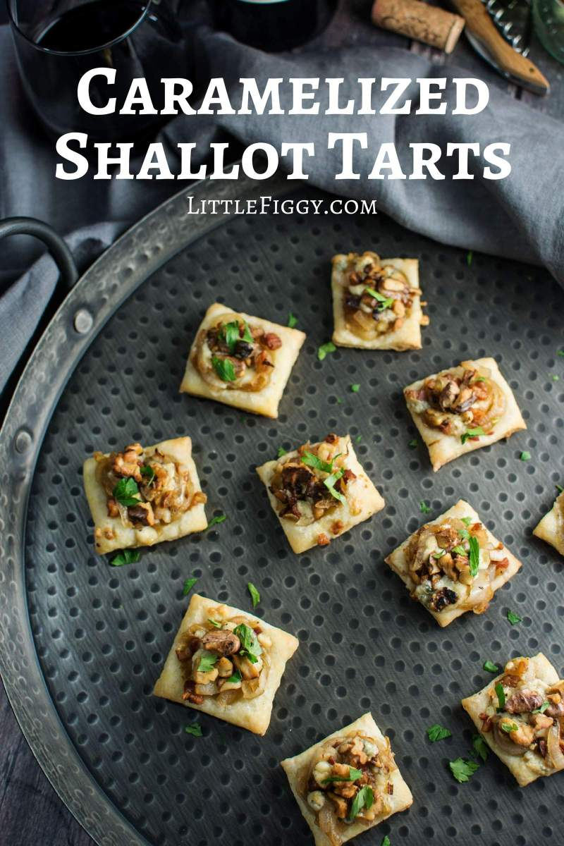 Thesetasty appetizers, Caramelized Shallot Tarts, are so easy to make and great to share with friends, family and @CavitWines! #Cavitwines #LivetheCavitLife #ad