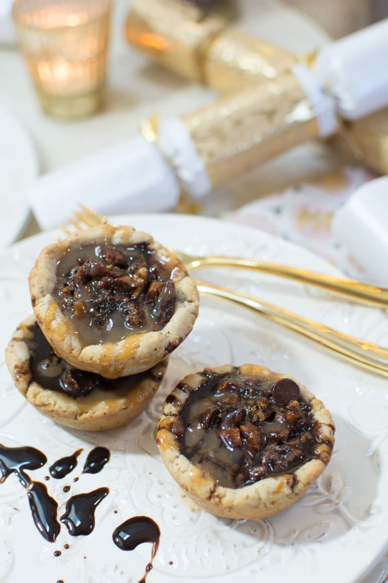 Enjoy #WorldMarketBaking with these Turtledove Pecan Tassies PLUS enter the Great Holiday Baking Sweepstakes! Learn all about it @LittleFiggyFood #ad