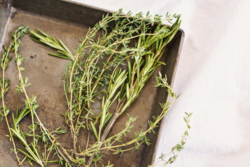 Herbs for Roasted Asparagus & Prosciutto