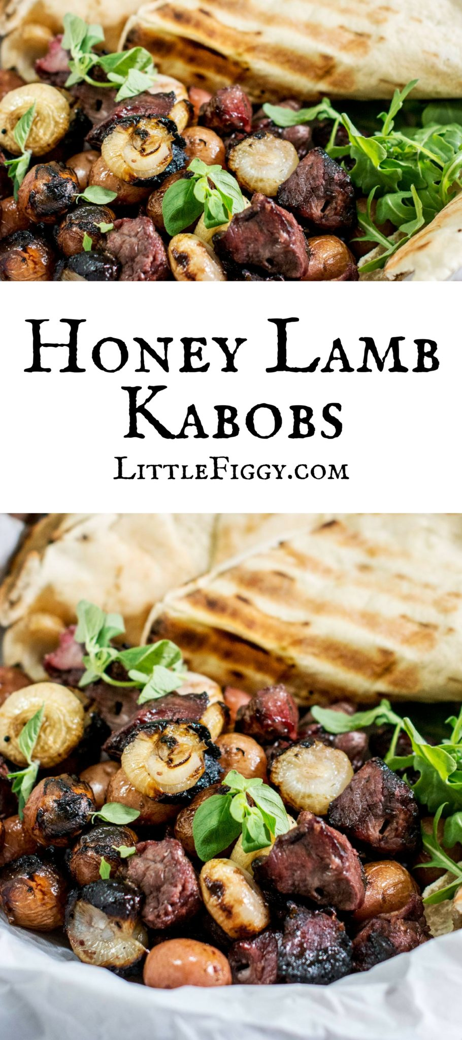 Aussie Honey Lamb Kabobs are so beautifully flavored and easy to make! Get the recipe at Little Figgy Food. They're #Aussome @aussiebeeflamb @biggreenegg #ad