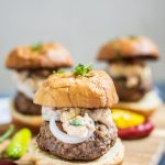 The Best Lamb Burger Sliders Ever