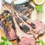 Quick and Easy Dinner – Moroccan Grilled Rack of Lamb