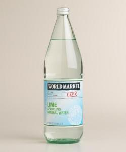 Cost Plus World Market Lime Sparkling Mineral Water