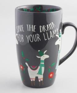 Save the Drama Latte Mug