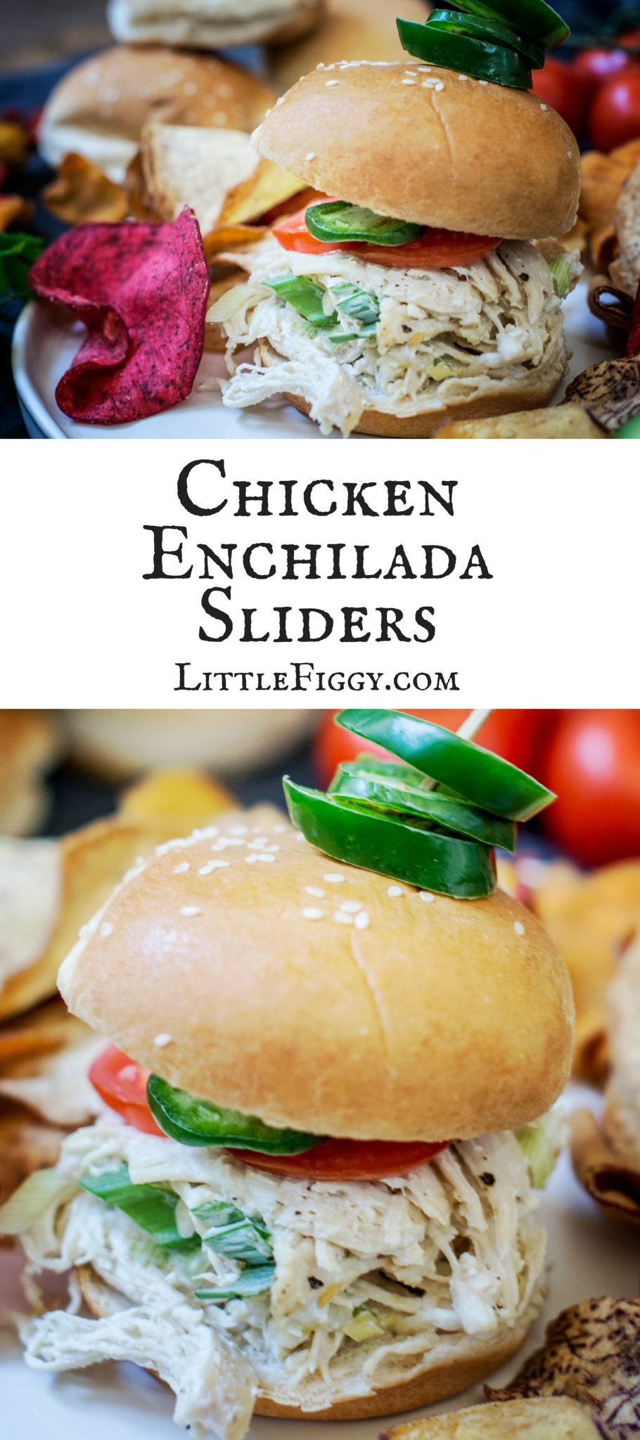 Getting ready for a brilliant get together with these Creamy Chicken Enchilada Sliders using my favorite @PepperidgeFarm Slider Buns! Learn more https://ooh.li/9c64564.  Get the recipe at Little Figgy Food. #Ad #RespectTheBun #LittleBunsBigWin #BakedWithCare