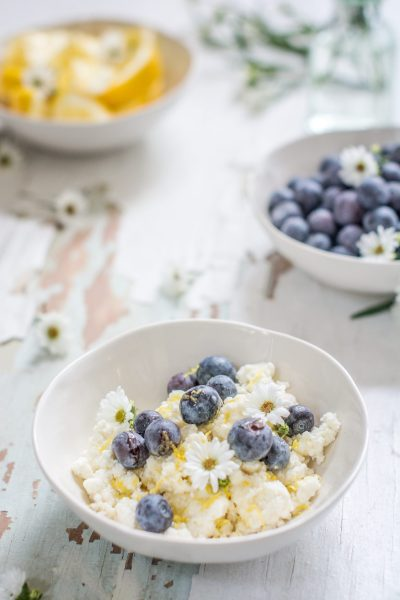 Learn how to make ridiculously EASY Ricotta Cheese! Use it in pastas, in desserts, as a snack, and enjoy fresh tasting Ricotta! Get the recipe at Little Figgy Food