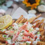 Snow Crab Legs: Loaded Crab Fries Recipe