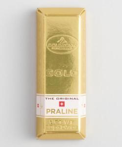 Mini Chocolate Gold Bars