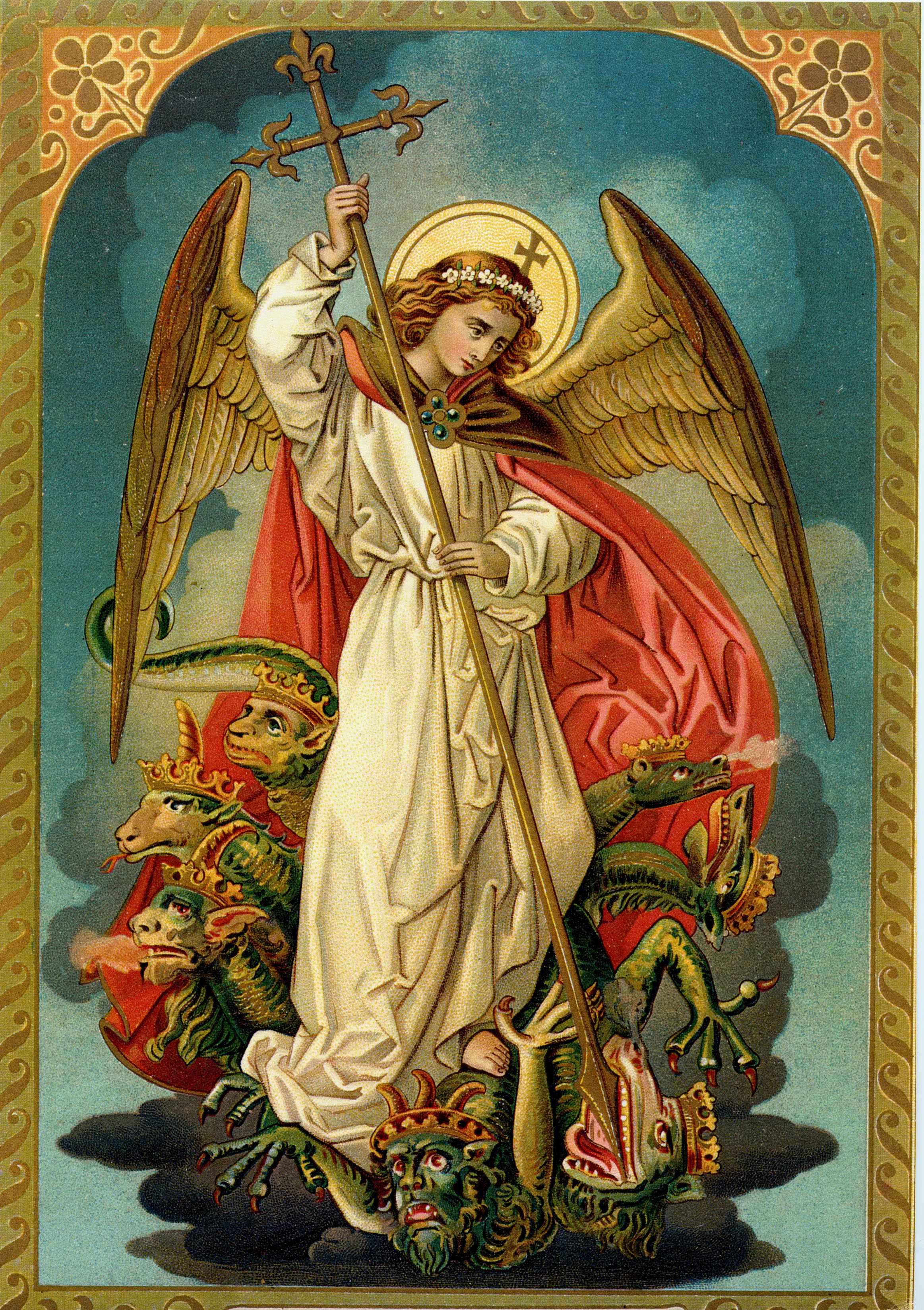 Image result for st. michael the archangel