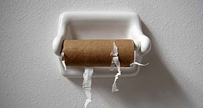 Image result for empty toilet paper roll
