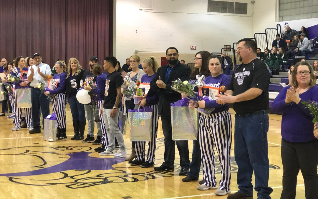 Lady Giants edge Clay for win on Senior Night