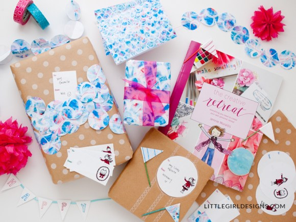 Oh my goodness, these gift tags are so cute! And The Creative Retreat book totally inspired me to regularly make personal retreats a reality in my love. Love love love! #personalretreat #creativeretreat
