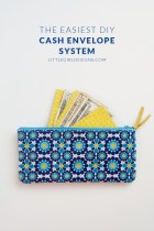 The Easiest DIY Cash Envelope System