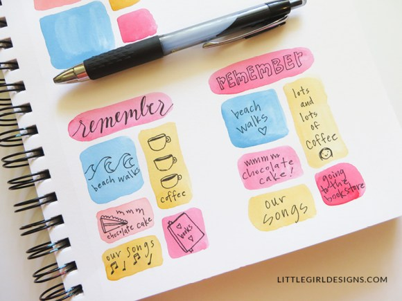 """Watch as I create two simple """"remember when"""" cards; you don't even have to consider yourself an artist to make these. And they make great gifts too!"""