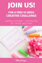 Introducing: The Creative Play Challenge