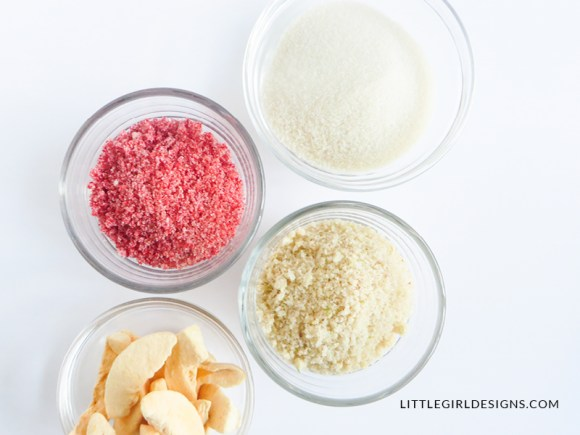 Have you ever made fruit sugar? It's a super simple recipe that you can whip up to give as gifts or to flavor your own cookies, toast, or tea!