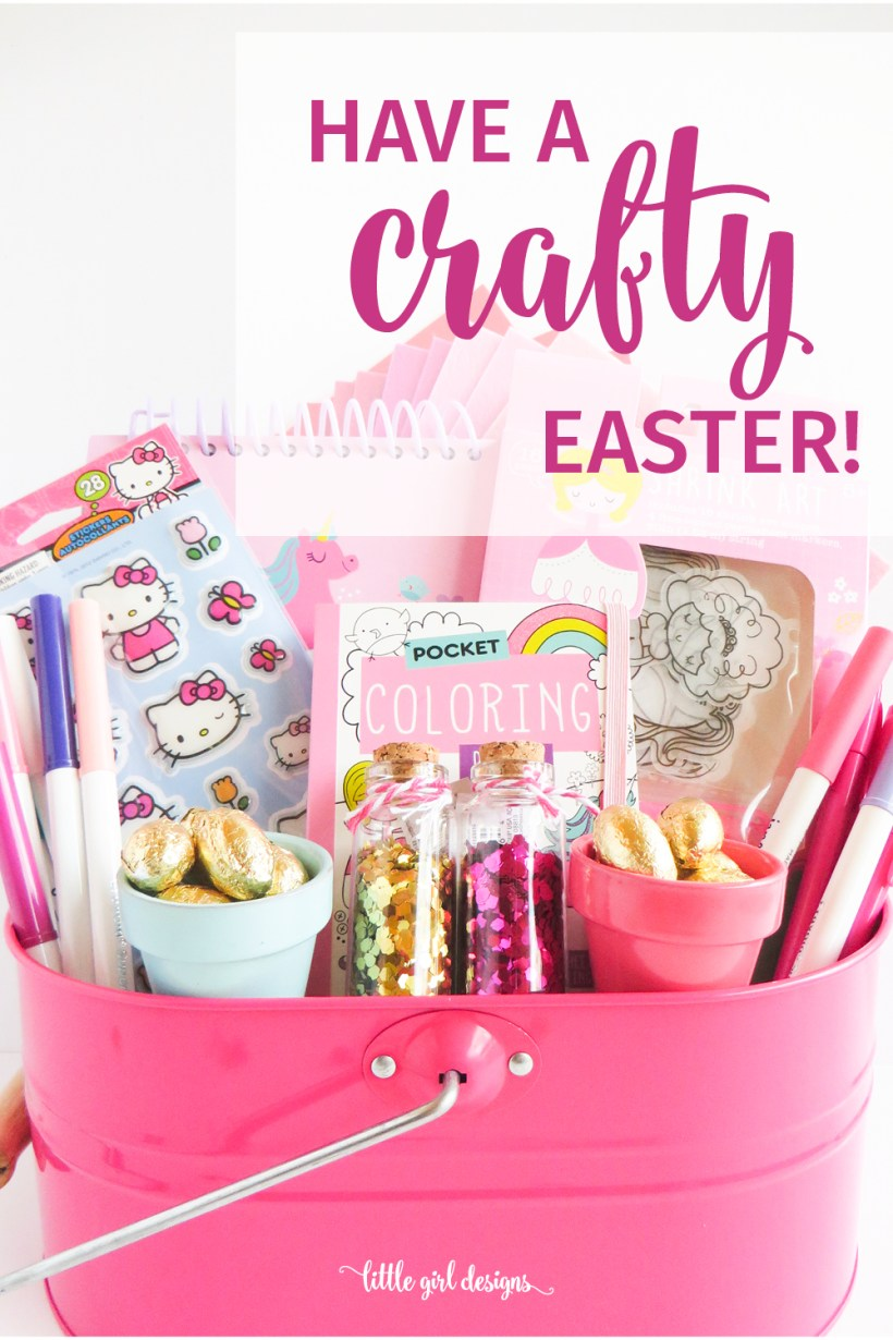 How to make a craft themed easter basket jennie moraitis how to make a craft themed easter basket negle Gallery