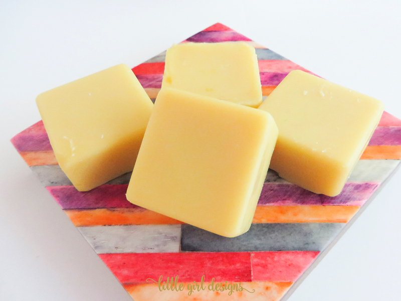 I love making cocoa butter bars for gifts. Adding my favorite essential oils to them makes these lotion bars even more amazing!