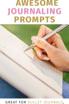 40 Awesome Journaling Prompts