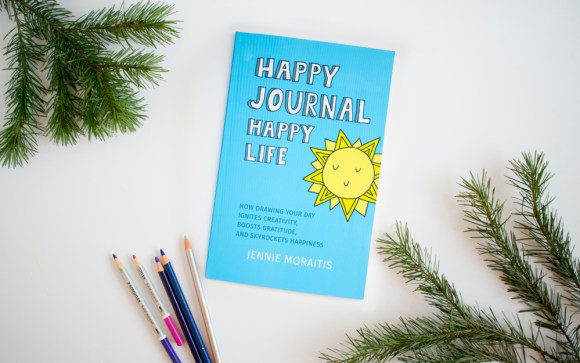 Get the Happy Journal Happy Life paperback book