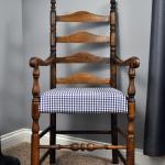 Ladder Back Chair Makeover Little Glass Jar