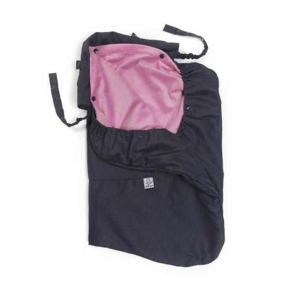 pewter pink 3-season carrier cover