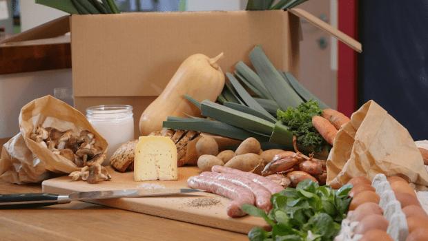 Little Green Box. Un concept qui se présente comme une alternative bio, locale et zéro déchet aux foodbox Hello Fresh.