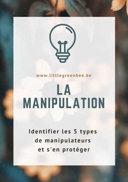 La manipulation se joue à deux et s'arrête si l'un des deux quitte le jeu. Ce sont souvent les personnes en manque de confiance en elles, empathiques et émotives qui sont victimes des menaces, culpabilisations et dévalorisations des manipulateurs. Un manipulateur se sent valable s'il écrase l'autre.