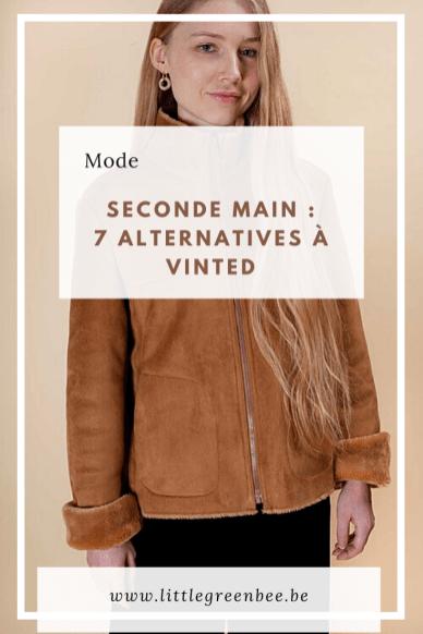 Vous aimez acheter des vêtements de seconde main mais vous n'avez pas envie de passer par la plate-forme Vinted ? Découvrez 7 eshops qui proposent des vêtements d'occasion (mais aussi d'autres alternatives).