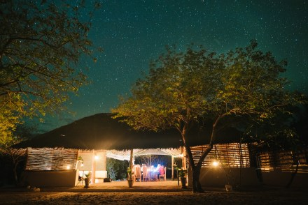 A starry night at Guludo Beach Lodge, Mozambique