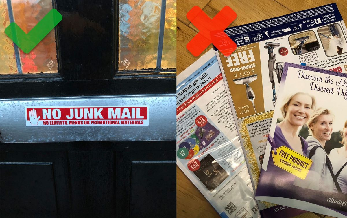 No More Junk Mail