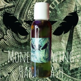 money drawing hand wash