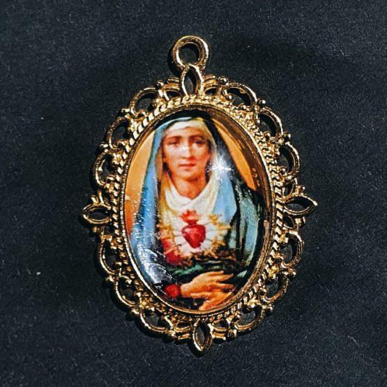blessed cabochon pendants