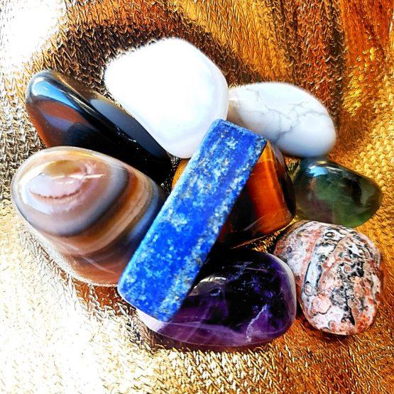 crystal tumblestones