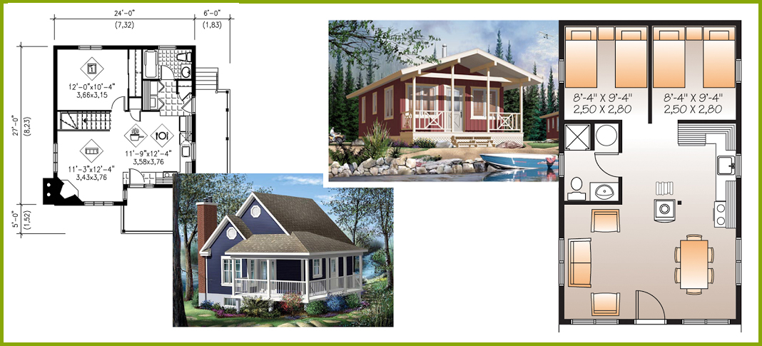 Tiny little and small house plans little house in the for Top rated floor plans