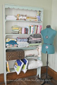 Organizing My Craft Room on a Budget - Little House Living