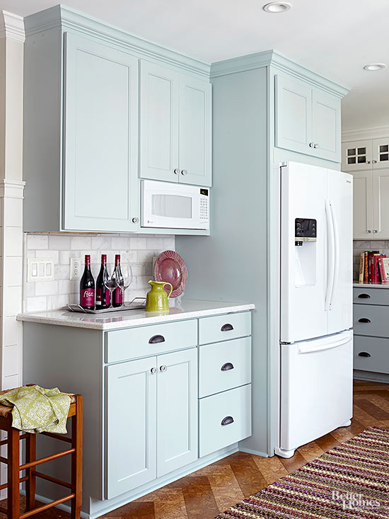 White Appliances As A Design Feature In The Kitchen Little
