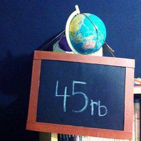 diy blackboard
