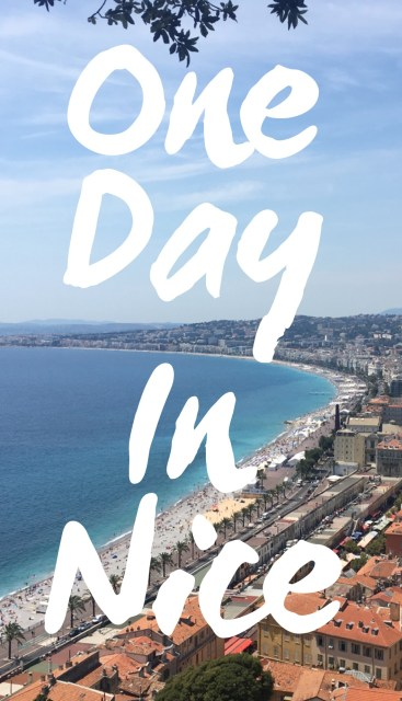 Nice itinerary one day