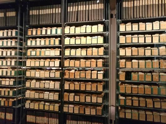 6 million Index Cards with information on war prisoners