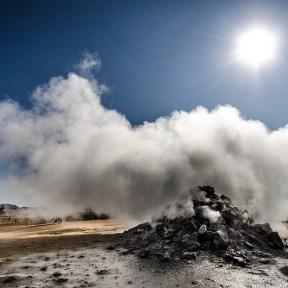 Natural Steam Spring