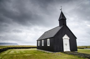 Lonely Chapel, Iceland