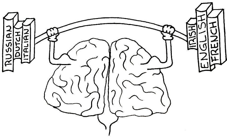 Being Bilingual Changes Your Brain Structure
