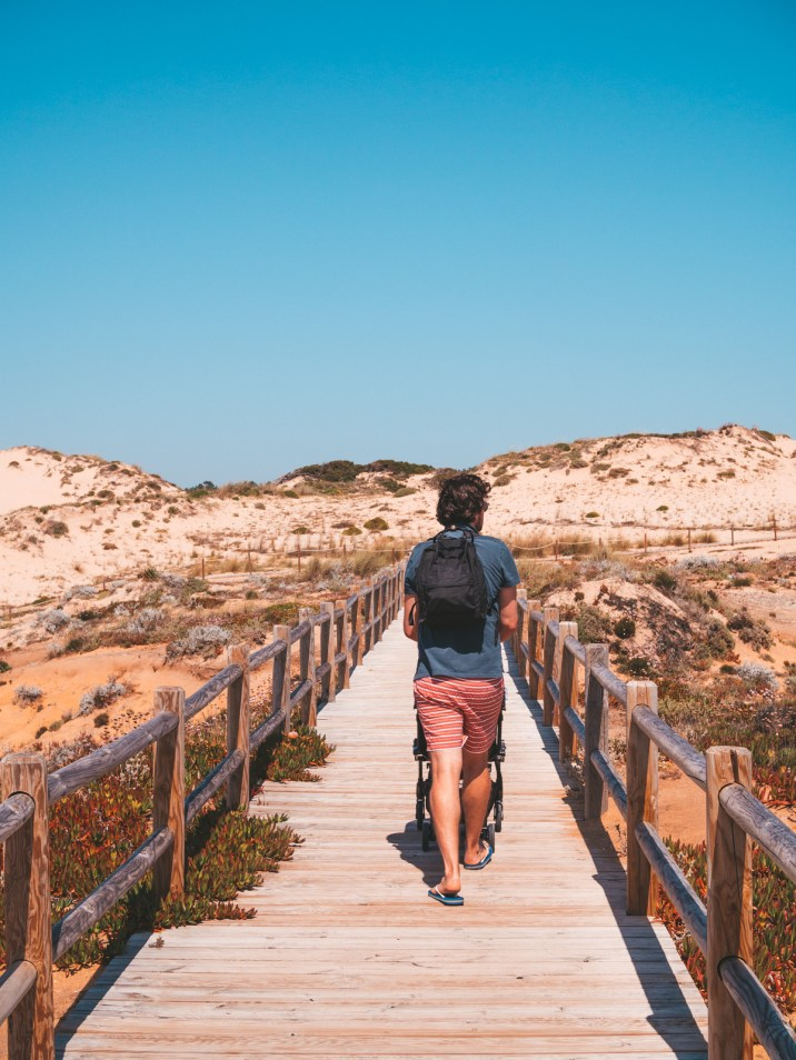 Algarve Portugal Vila Nova de Milfontes Travel Praia do Malhao